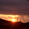 ☆曇った空に太陽が・・・☆